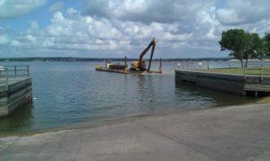dredging the ramp